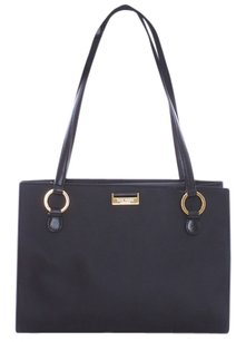 Kate Spade Rip Stop Nylon Gold Tone Hardware Shoulder Bag