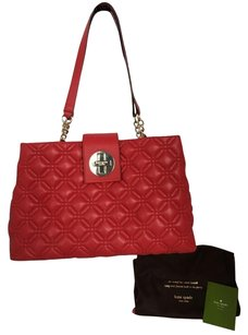 Kate Spade Satchel in pillbox red