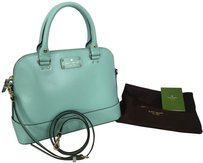 Kate Spade Satchel in robbins egg blue