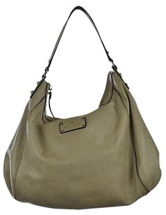 Kate Spade Womens Textured Leather Handbag Shoulder Bag