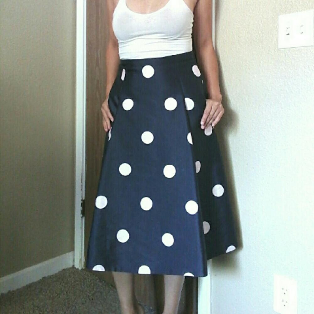 kate spade structured a line skirt