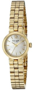 Kate Spade Tiny Gramercy Mother Of Pearl Dial Gold tone Ladies Watch