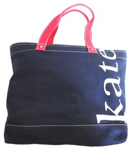 Kate Spade Tote in Red /Blue