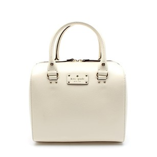 Kate Spade White Satchel in Porcelain