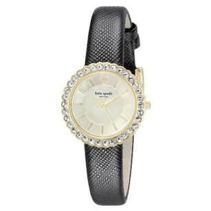 Kate Spade Women's Cornelia Analog Display Japanese Quartz Black Watch 1YRU0743