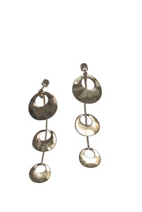 Kenneth Cole Kenneth Cole Gold-Tone Mod Dangle Earrings
