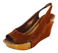 Kenneth Cole Reaction Good brown Platforms