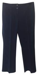Kenneth Cole Straight Pants Navy blue
