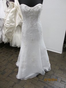 Kenneth Winston 1479 (123l) Wedding Dress