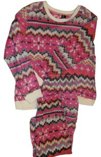 Kensie Fair Isle Pajama/lounge set from Kensie w/ pockets - size XL,