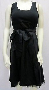 Kensie short dress Blacks Black Scoop Neck Sash on Tradesy