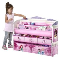 Kids Toy Storage Book Organizer Chest Bedroom Furniture Playroom Disney Children