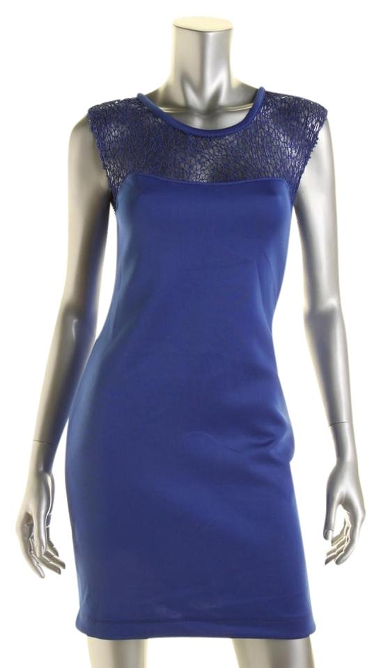 KIIND OF Royal Blue Short Cocktail Dress Size 6 (S) - Tradesy