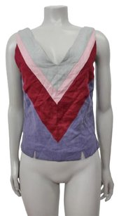 Knitted Dove Top Lavender multi