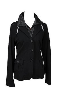 Krizia R265h0809f Basic Womens 19 Black Jacket