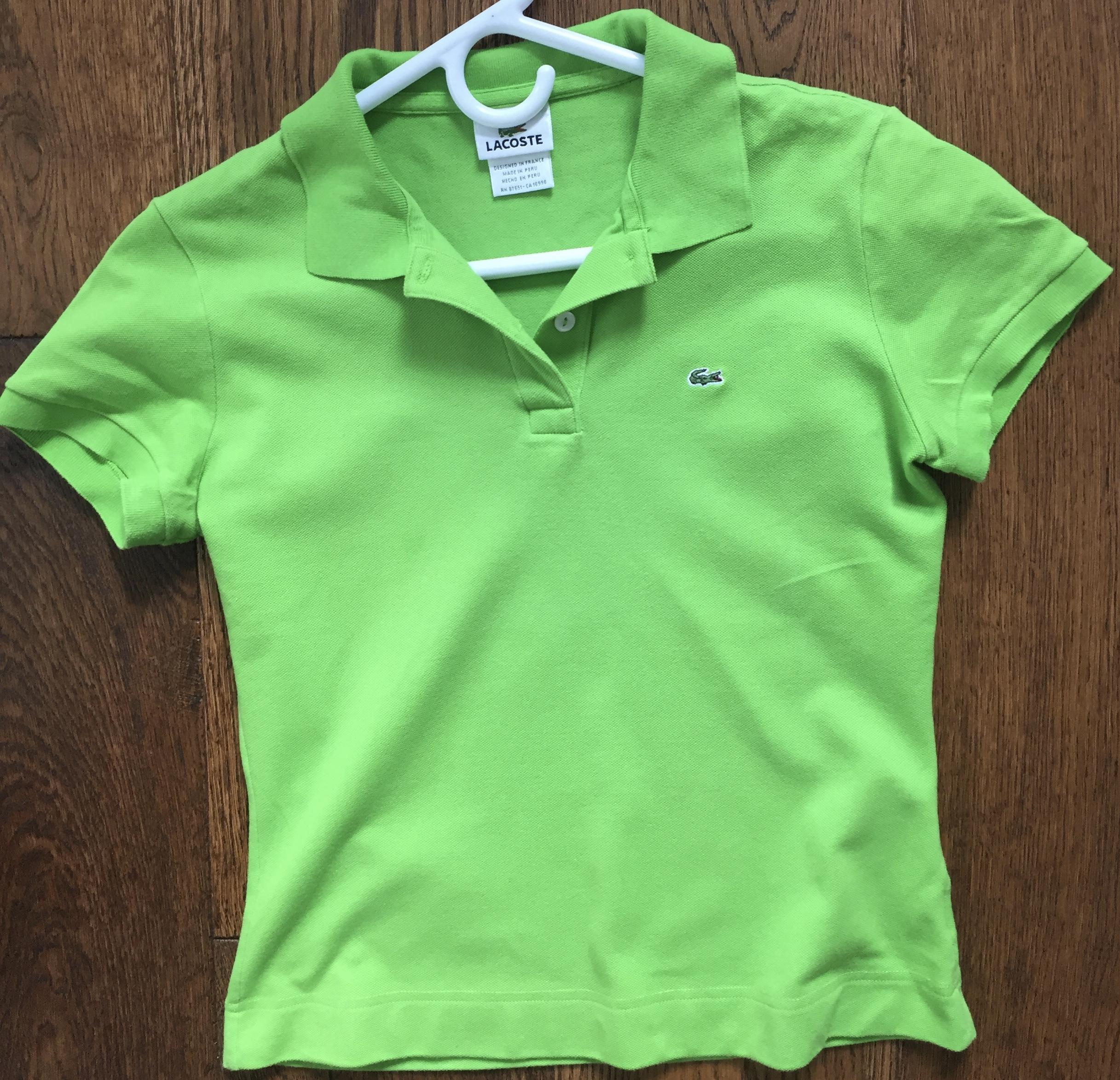 a6fd97be6 Lacoste Polo Shirts Size 8