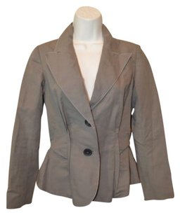 Lanvin 362 Lanvin 2009 Army Green Cotton Blend Long Sleeve Jacket Blazer