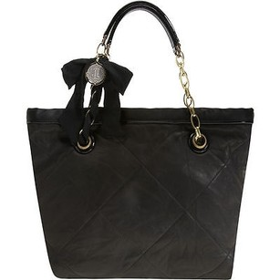 Lanvin Amalia Quilted Tote in Black