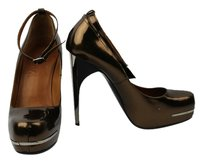 Lanvin brown Platforms