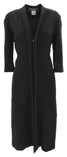 Lanvin Edgy Chic Classic Wool Coat