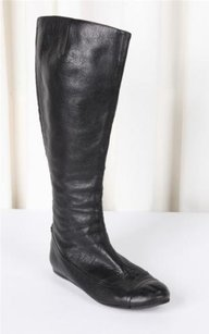 Lanvin Womens Leather Black Boots