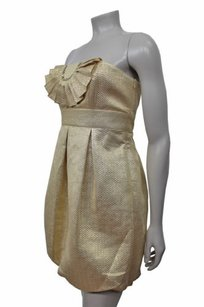 Laundry by Shelli Segal Brocade Bubble Strapless Dress