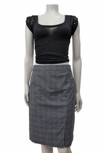 Laundry by Shelli Segal Faux Skirt Dark charcoal