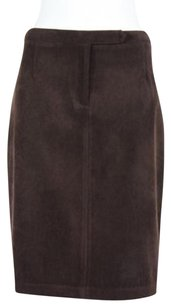 Laundry by Shelli Segal Womens Skirt Brown