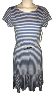 Ralph Lauren short dress Blueberry & white Kandence Striped Blue on Tradesy