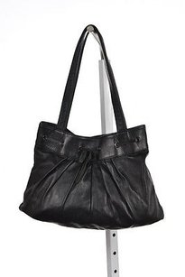 Lauren Merkin Womens Satchel in Black