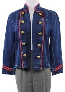 Lauren Ralph Lauren Womens Blue Jacket