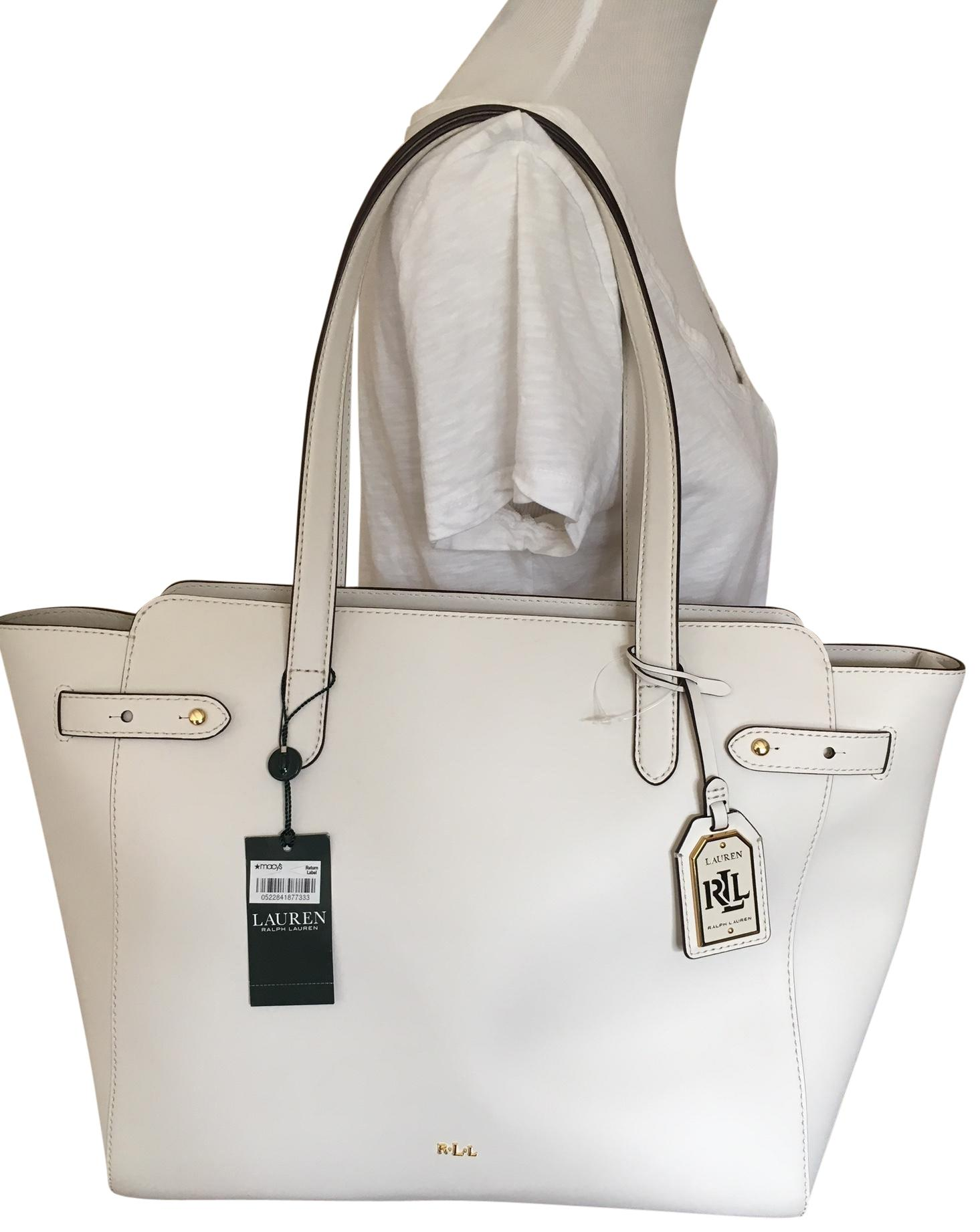 Lauren Ralph Lauren Harper Parker Vanilla/White Leather ...