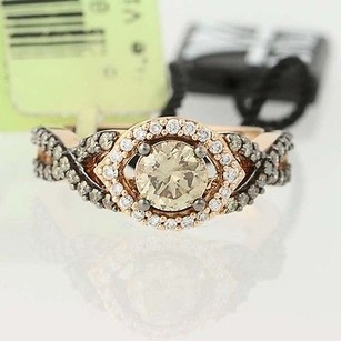 Le Vian Le Vian Diamond Ring - 14k Rose Gold Halo 1.20ctw