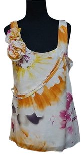 Leifsdottir Sleeveless Floral Top Multi-Color