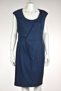 Lela Rose Womens Blue Dress