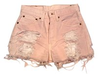 Levi's Cut Off Shorts dusty pink