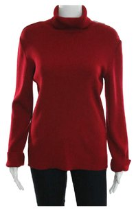 Lil L'Autre Paris Turtleneck Made In Wool Blend Italy Size 46 Sweater