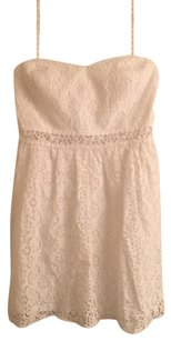 Lilly Pulitzer short dress white Brett Sterapless Lace Lace on Tradesy