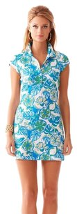 Lilly Pulitzer short dress Resort White Sweet and Sour Print on Tradesy
