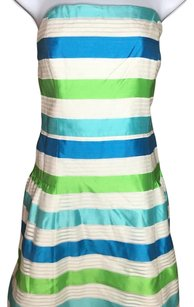 Lilly Pulitzer short dress White/green/blue on Tradesy