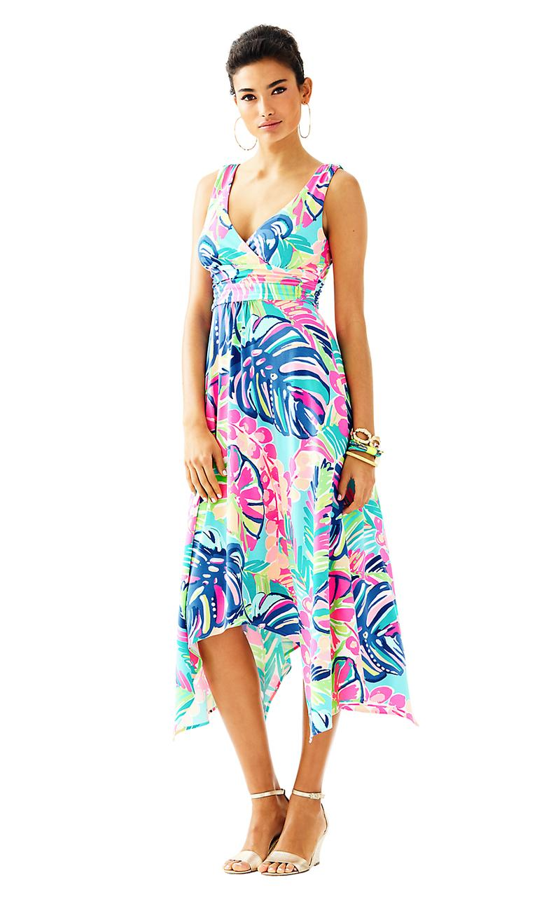 Lilly Pulitzer Sloane In Exotic Garden Multi.... Maxi Dress - 25 ...