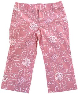 Lilly Pulitzer Capris Pink/White