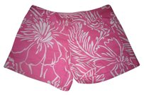 Lilly Pulitzer Shorts Pink and White
