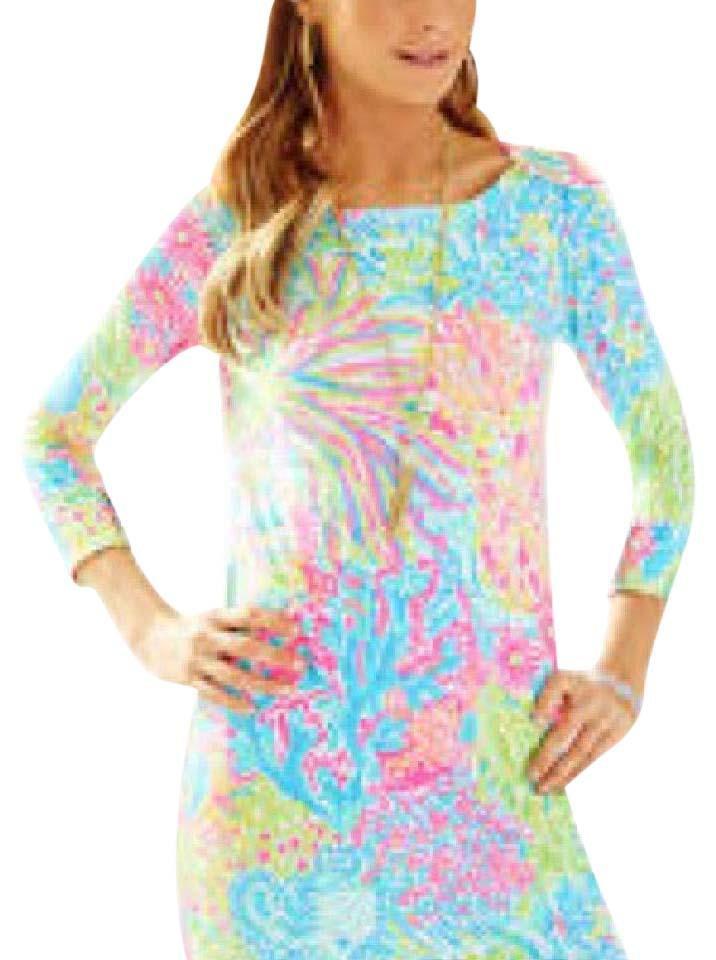Lilly Pulitzer Sophie Dress UPF 50 In Pool House