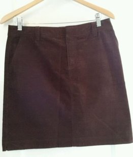 Lilly Pulitzer Cotton Blend Skirt Brown