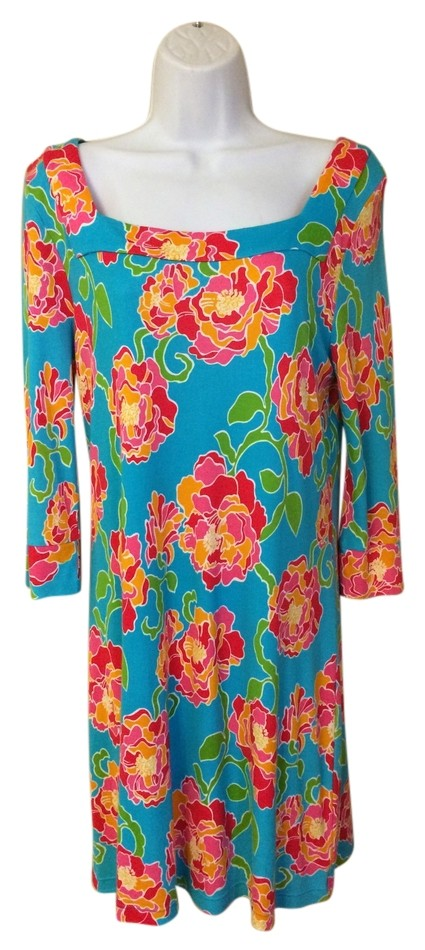 Lilly Pulitzer Flower Print Dress ...