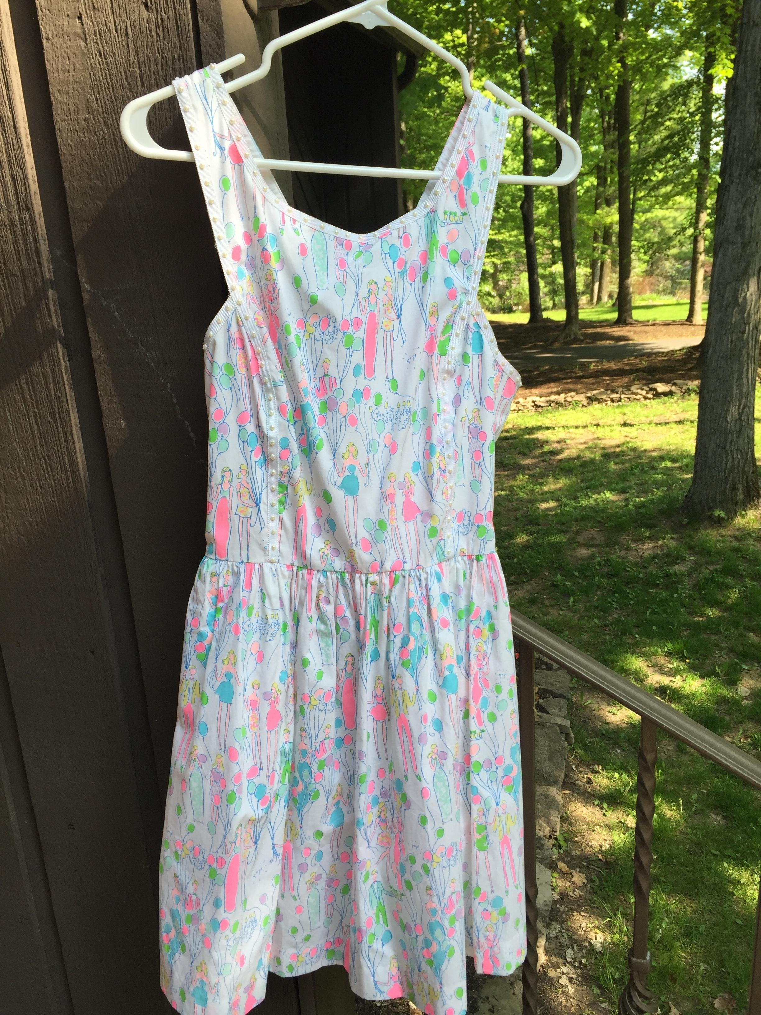 Lilly Pulitzer Party Balloons Dress Lilly