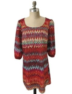 Lily Rose short dress Multi-Color Aztec Chevron on Tradesy