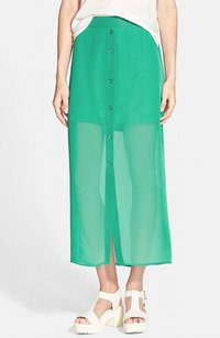Lily White 100% Polyester A0482 Maxi Skirt