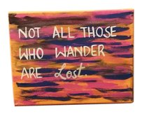 Linda Farrow Luxe Not all those who wander are lost